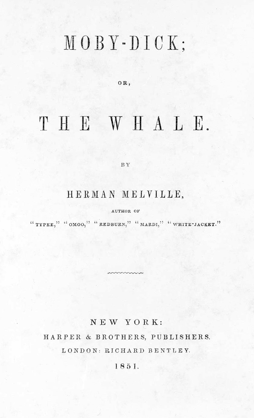 Moby-Dick: A Note on Hyphenation