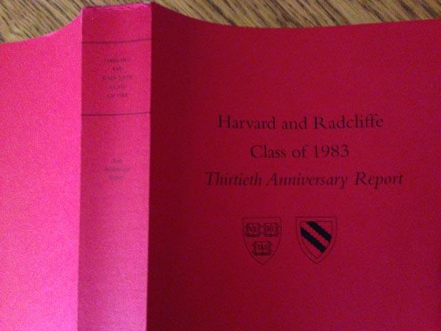 Thirtieth College Reunion